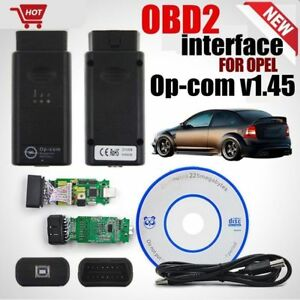 Obd2 Opcom Op Com 2017 Can V1 45 Usb Interface Scantool For Opel With Software