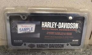 Harley Davidson License Plate Frame For Auto Or Truck