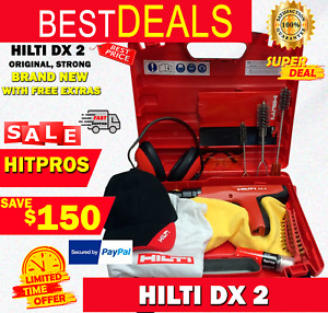 Hilti Dx 2 With Free Extras Brand New Original Strong Durable Fast Shipping