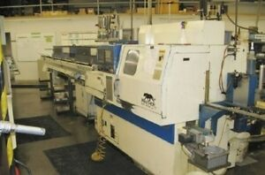1999 Tsugami Bs20 ii 0 7874 Spindle Cnc Fanuc Iemca Mini Boss 325 Bar Loader