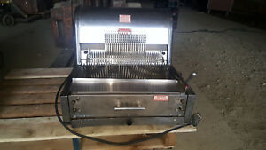 Berkel Commercial Bread Loaf Slicer Slicing Machine Counter Top Stainless Steel