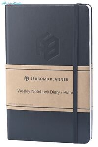 Isabomb Monthly Weekly Planner 2017 2018 Undated Planner To Increase Productiv
