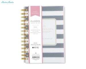 Day Designer For Blue Sky 2018 Daily Monthly Planner Twin wire Binding 5 X 8