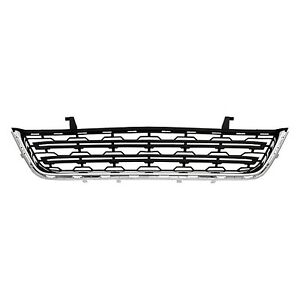2013 2016 Chevy Traverse Ls Lt Lower Grille On Front Bumper Cover New