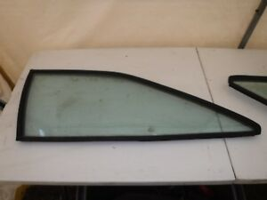 Vw Scirocco Mk2 S2 Quarter Glass W seal Left Driver Side