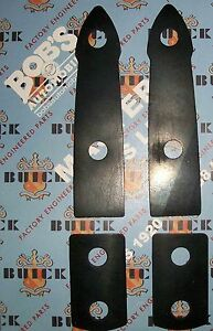 Buick 1937 1938 1939 1940 New 4pc Trunk Hinge Gasket Pad Set Made In Usa