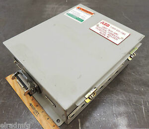 Abb Electrical Enclosure 12x10x5 Electric Box Connection Box Used