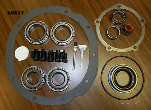 Complete Bearing Kit 9 Inch Ford Center Section With 2 89 X1 78 Carrier Bearing