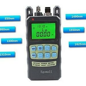 Fiber Optic Cable Tester Portable Optic Power Meter With Sc And Fc 70 To 10dbm