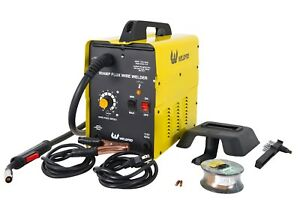 90 Amp Flux Wire Welder no Gas Required new In Box Includes Wire