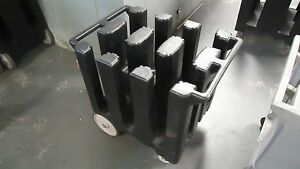 used Cambro Dc700 7 Dish Cart Catering Restaurant Commercial