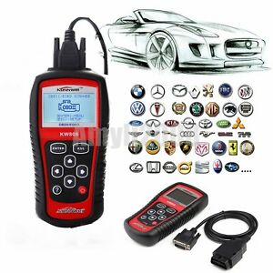 Kw808 Car Scanner Tool Eobd Obd2 Obdii Diagnostic Engine Fault Code Reader Scan
