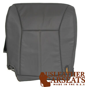 1999 Dodge Ram Driver Side Bottom Replacement Synthetic Leather Seat Cover Gray