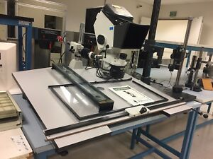 Vision Engineering Ts 3 Inspection Stereo Dynascope Microscope