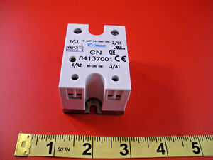 Crouzet 84137001 Solid State Relay 10a 24 280v Ac 90 280v 10 Amp Ssr New Nnb