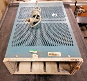 Tektronix Tm504 334 2380 00 High Power Compartment Chassis no Modules