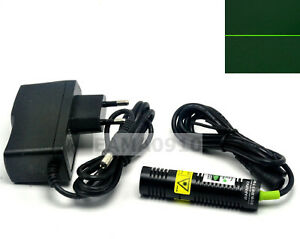 532nm 30mw 5v Green Laser Line Module Long Time Working 18x75mm W ac Adapter