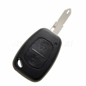 2 Button Car Fob Shell Remote Key Case For Renault Trafic Vivaro Master Kangoo