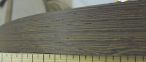 Wenge Wood Veneer Edgebanding 7 8 X 500 Feet On Fleece Backer With No Adhesive
