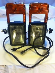 Snow Plow Light No Blind Spot Complete Set L R