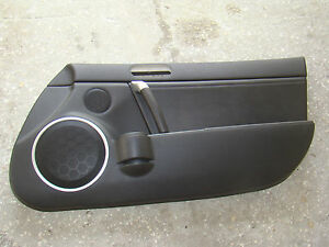 Mazda Miata Door Panel Black 06 07 08 09 10 11 12 Right Mx5 Oem