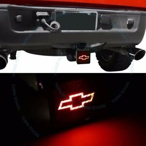 For Chevy Brake Light Trailer Hitch Receiver Cover Fits 2 1 25 Hitches