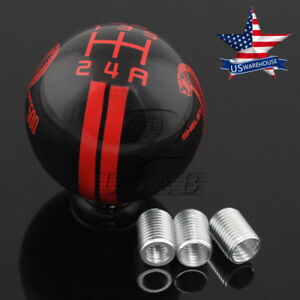 Universal 5 Speed Cobra Gear Shift Knob 3 Hose For Ford Shelby Mustang Gt500 Us