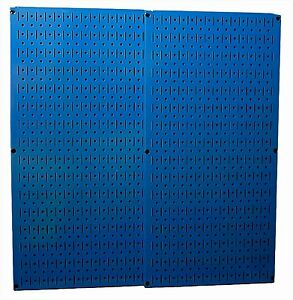 Tools Pegboard Blue Metal 2 Boards Storage Pegs Organizer Garage Wall Control