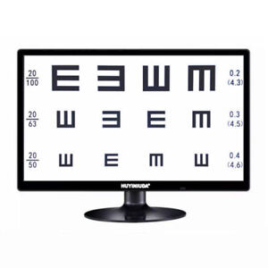 Multi function 19 Led Display Micro Chart Projector Eye Chart 2m 7m Optometry