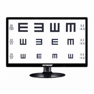 Multi function 21 5 Led Display Micro Chart Projector Eye Chart 1 7m Optometry