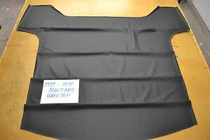 1977 77 1978 78 Ford Mustang Ii Coupe Hardtop Black Headliner Usa Made