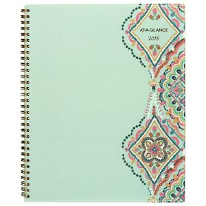 At a glance Weekly Monthly Planner January 2018 December 2018 8 1 2 X 11