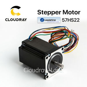 Stepper Motor Leadshine 2 phase Nema23 57hs22 a 3 5a 500vac 2 2nm Cnc 314oz in