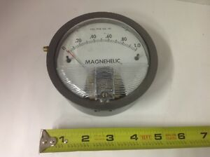 Dwyer Magnehelic Pressure Psi Gage Guage 0 1 0 Free Shipping
