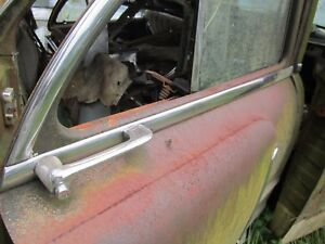 55 Packard 4 Door Right Passenger Rear Door Beltline Trim Molding 1955