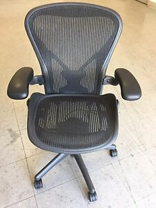 Herman Miller Aeron Chair fully Adjustable posture Fit size C