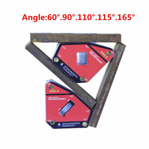 Multi angle Mini Welding Magnet Magnetic Clamp Holder 35kg Max Pull Force New