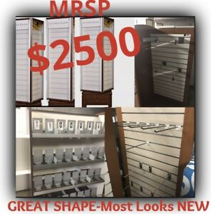 Lg High Quality Retail Jewelry Towers Display Case W Retractable Slots more