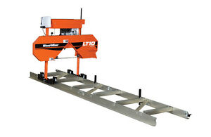 Wood mizer Lt10 Portable Sawmill Bandsaw 10hp