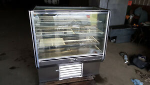 Leader Refrigerated Bakery Counter Display Case Glass Showcase Stainless Steel