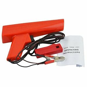12v Red Timing Light Gun Tester Ignition For Car Auto Motorcycle Lights Lamps