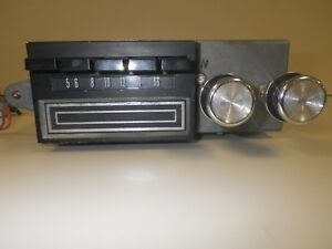 1969 Mercury Am Radio 8 Track Player C9ma 19a242 With Speakers And Fader