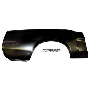 Mustang Quarter Panel Skin With Indent Passenger Side Cp cv 1968