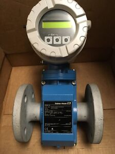 Endress Hauser 10w40 ua0a1aa0a5aa Promag 10w Electromagnetic Flowmeter