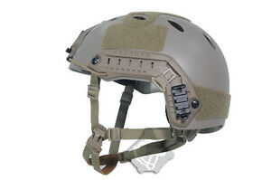 FMA Tactical Airsoft Adjustable Fast Helmet PJ Type for Paintball ML LXL