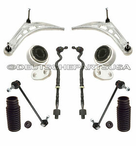 Front Wishbone Control Arm Ball Joint Tie Rod Boot Kit For Bmw 3 Series M Sport