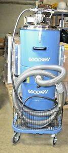 Goodway Dv ah Industrial Dry Abatement Dust Particle Hepa Vacuum Cleaner