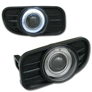 Nos Halo Projector Fog Lights For 99 03 Jeep Grand Cherokee