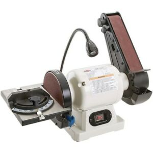Shop Fox W1838 Combo Benchtop Belt Disc Sander