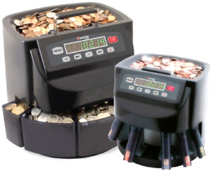 Usa Coins Sorter Machine Professional Quick Count Roll Commercial Business New